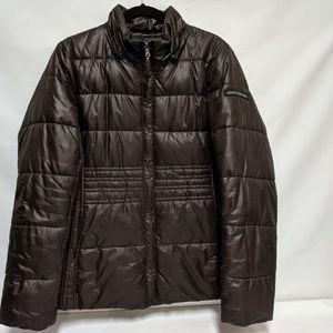 Calvin Kline Women's faux fur hooded winter coat